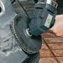Угловая полировальная машина для сухого полирования Eibenstock WPO 180